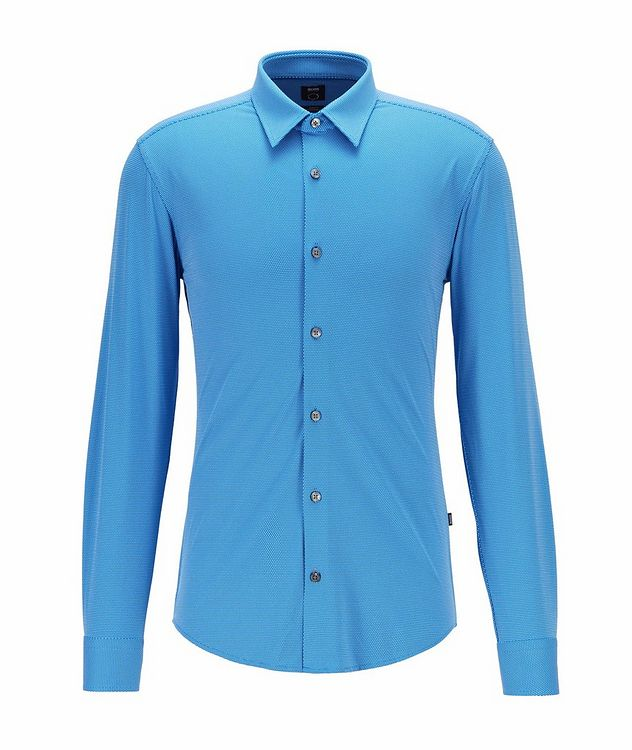 Printed Stretch-Blend Sport Shirt picture 1