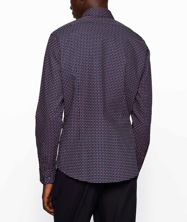 Contemporary-Fit Printed Cotton Shirt picture 3
