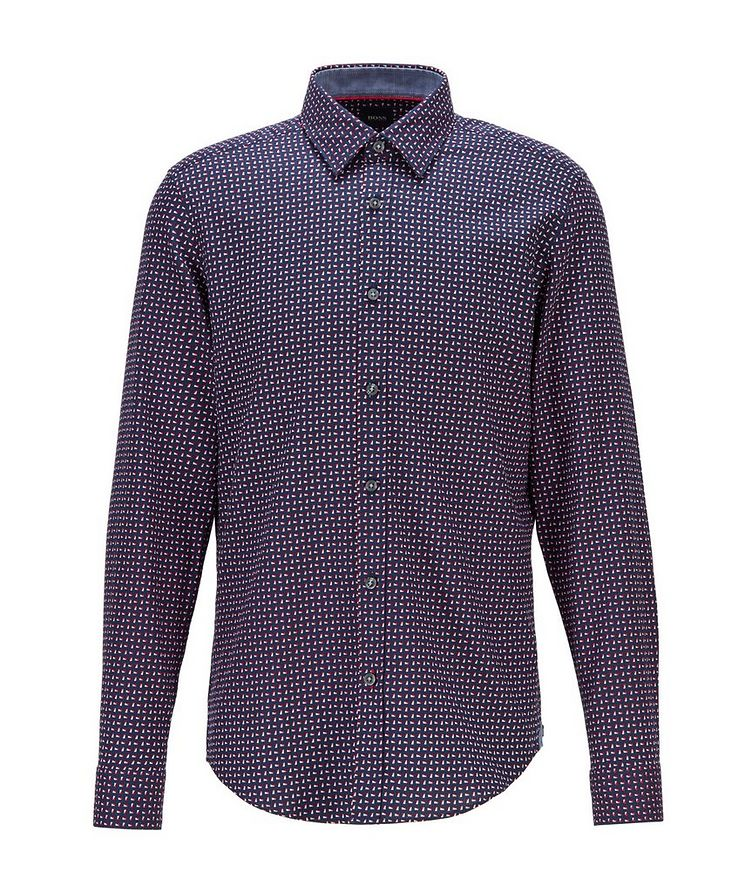 Contemporary-Fit Printed Cotton Shirt image 0