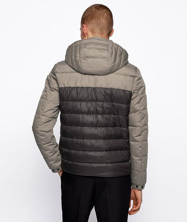 Recycled Wadding Hybrid Jacket picture 3