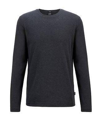BOSS Mercerized Cotton Long Sleeve T-Shirt