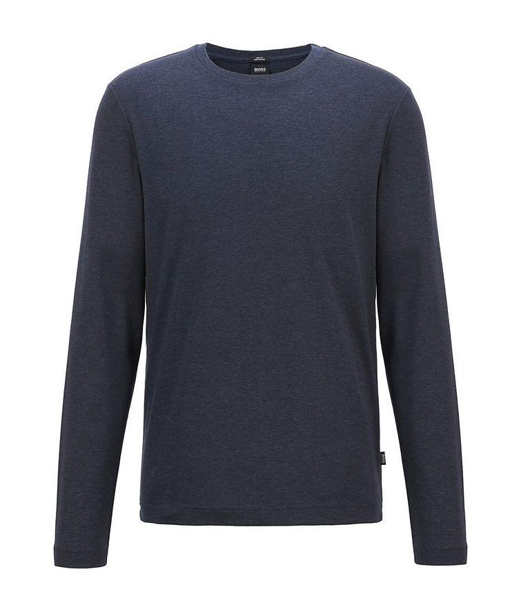 Mercerized Cotton Long Sleeve T-Shirt image 1
