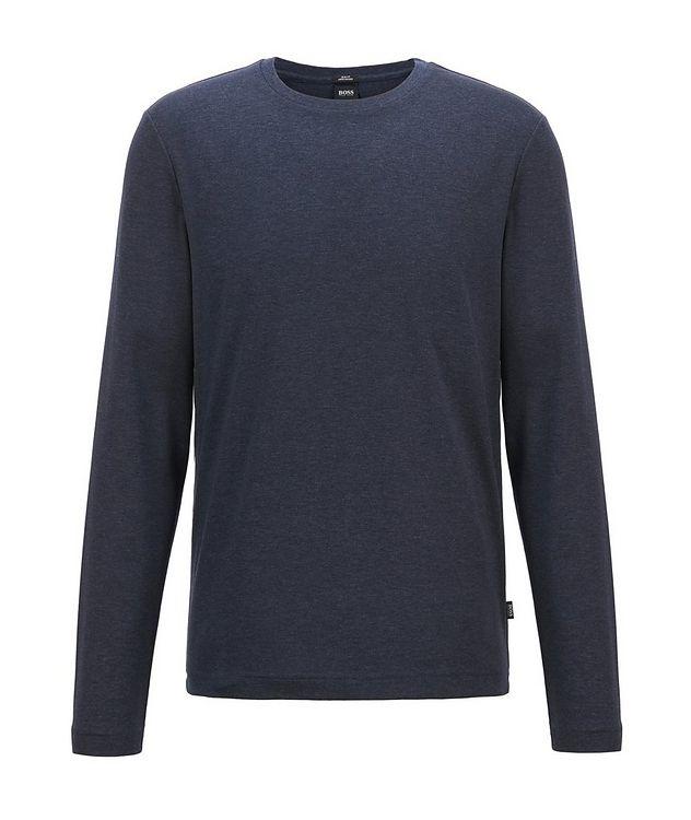 Mercerized Cotton Long Sleeve T-Shirt picture 1