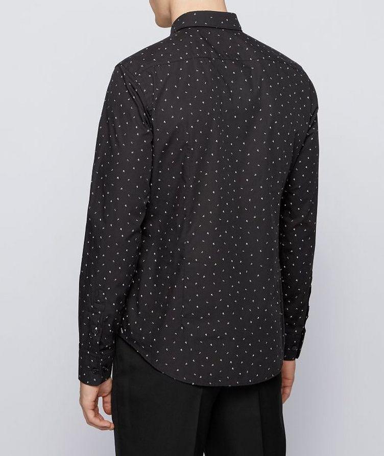 Chemise habillée imprimée de coupe amincie image 2