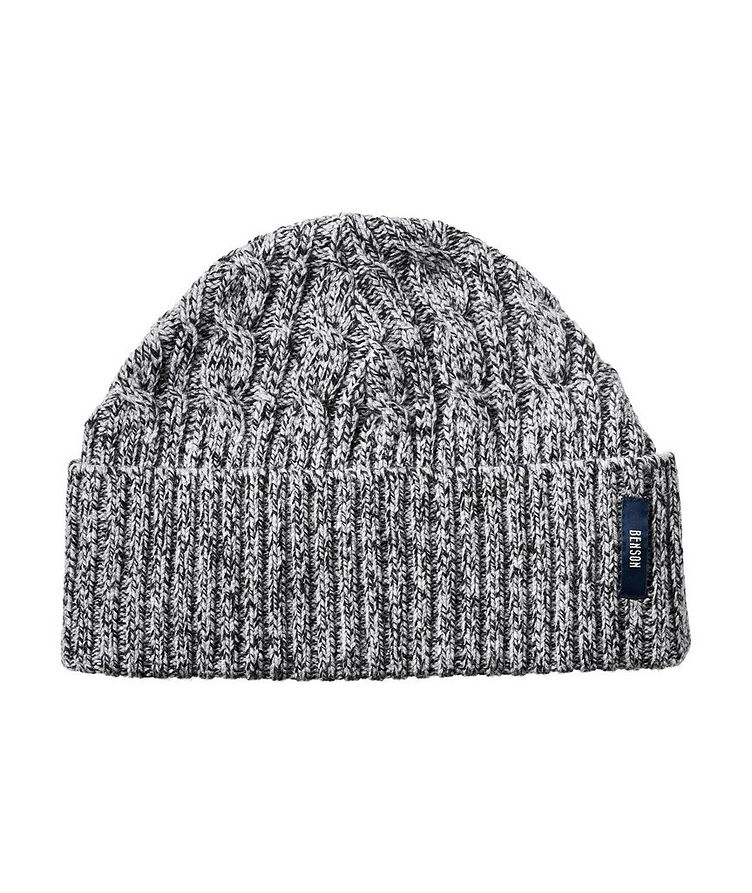 Ribbed Wool-Blend Toque image 0
