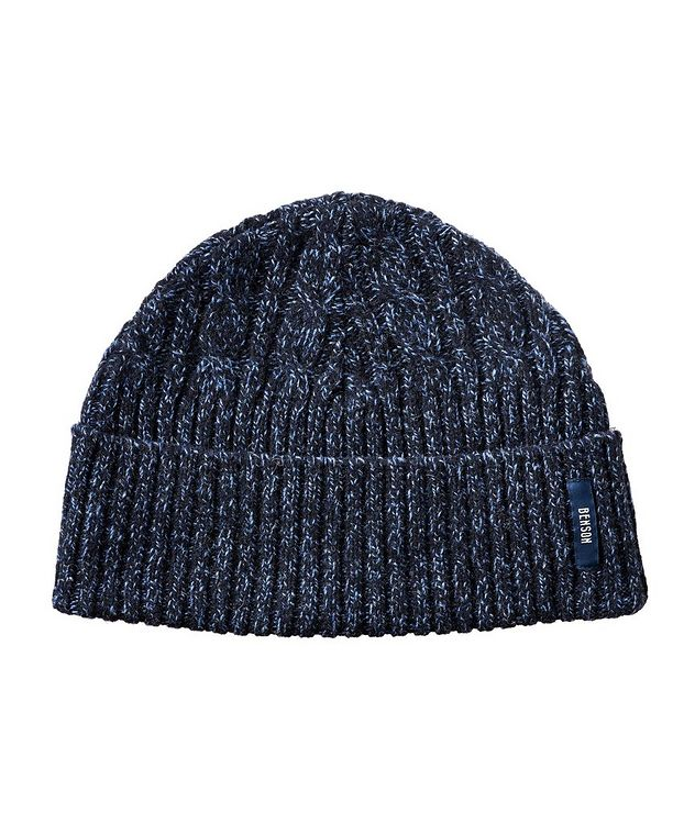 Ribbed Wool-Blend Toque picture 1