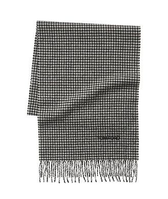 TOM FORD Houndstooth Print Wool-Cashmere Scarf