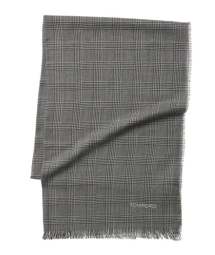 Glen Check Wool Scarf image 0