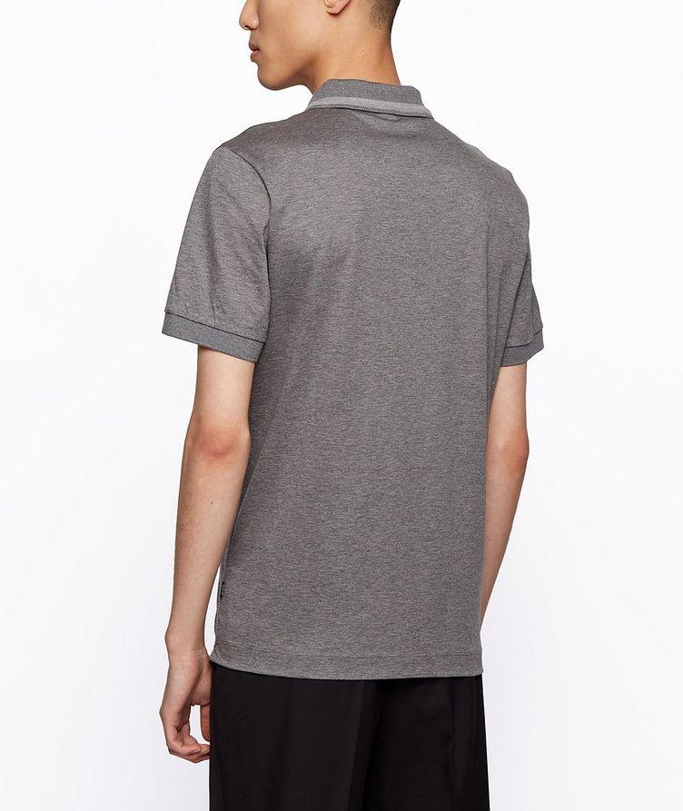 Half-Zip Slim Fit Cotton Polo image 3