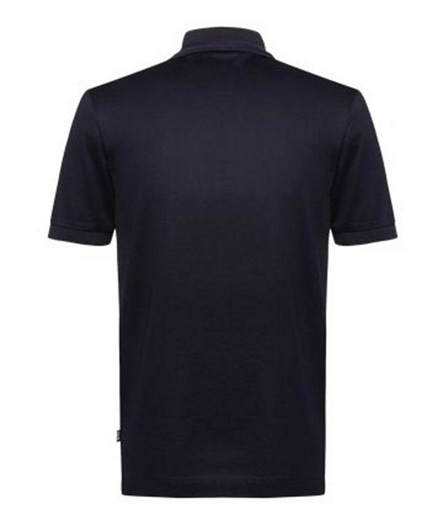 Half-Zip Slim Fit Cotton Polo picture 2