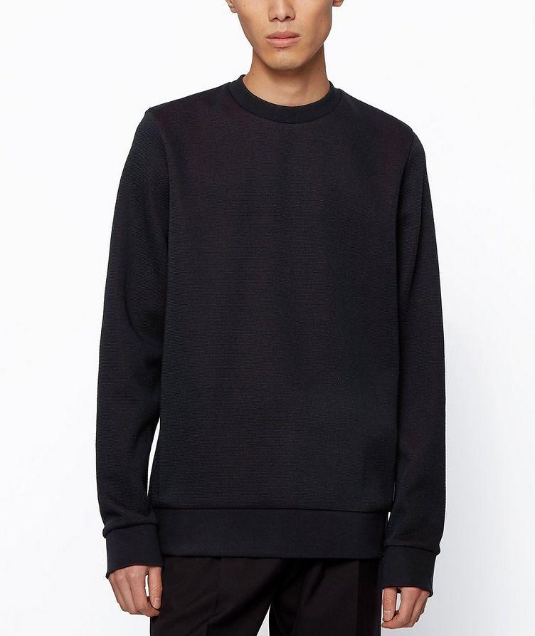 Knit Cotton Sweatshirt image 2