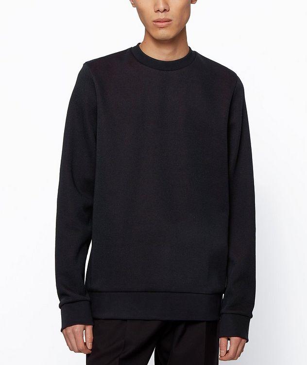 Knit Cotton Sweatshirt picture 3