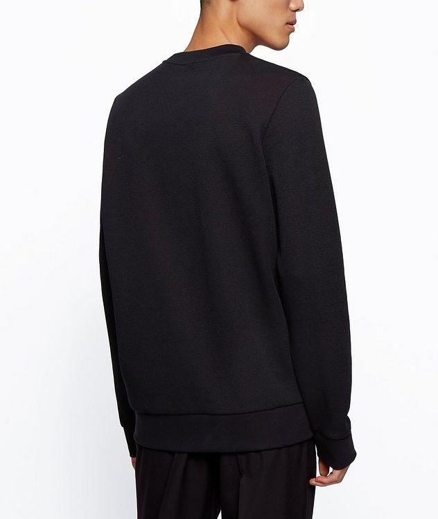Knit Cotton Sweatshirt picture 4