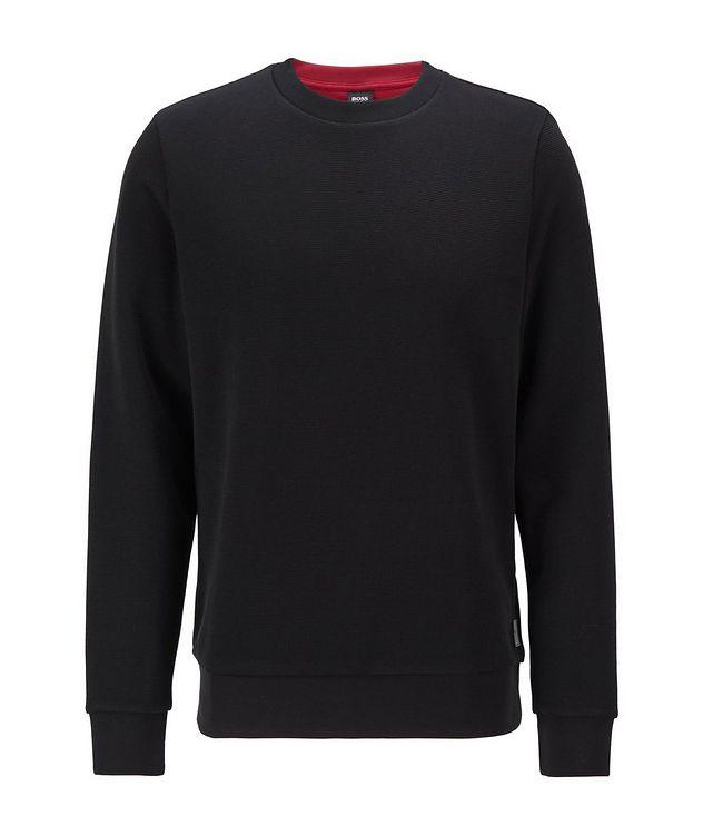 Knit Cotton Sweatshirt picture 1