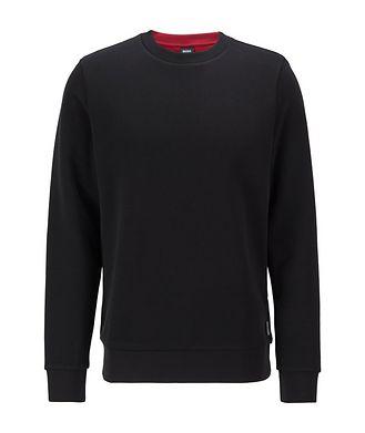 BOSS Knit Cotton Sweatshirt