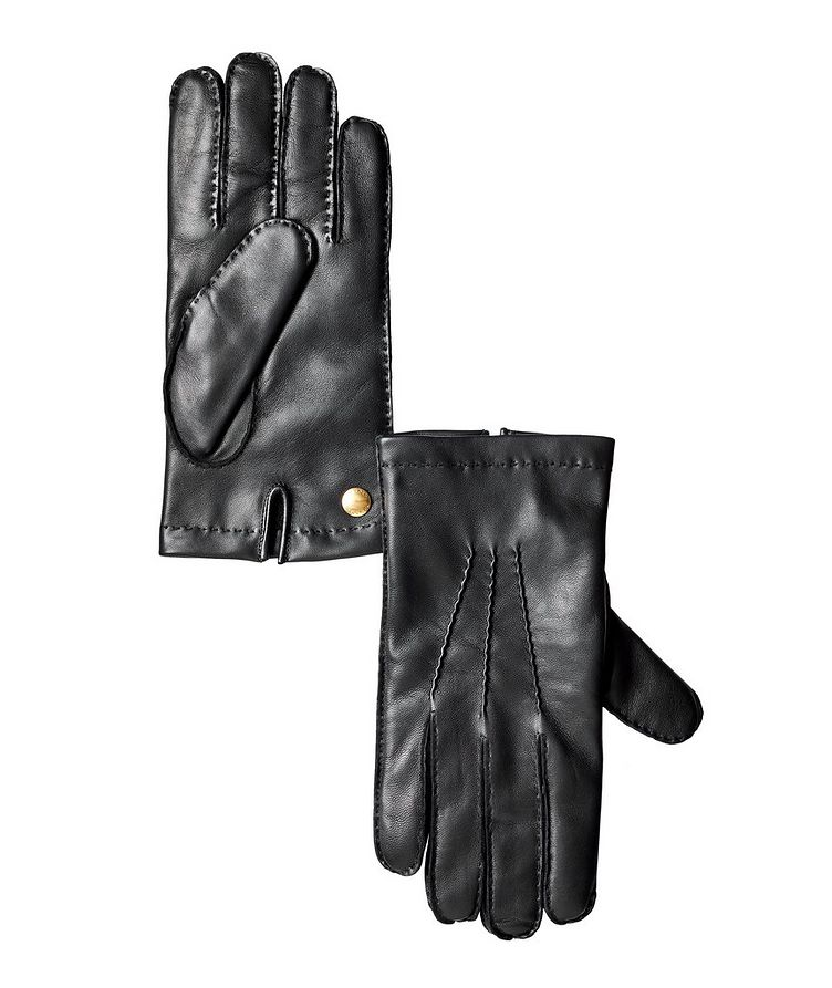 Nappa Leather Cashmere Gloves image 0