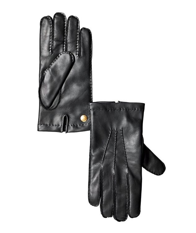 Nappa Leather Cashmere Gloves picture 1