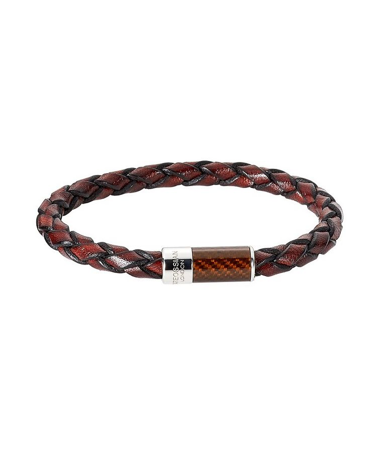 Braided Leather Bracelet image 0