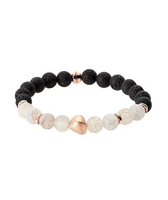 Tateossian London Lava Bead Bracelet