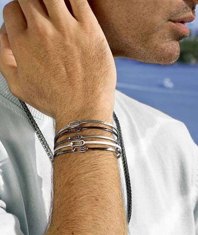 Brushed Metal Bangle picture 2