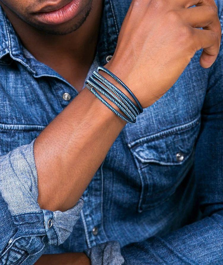 Raphael 1M Social Distancing Leather Bracelet image 1