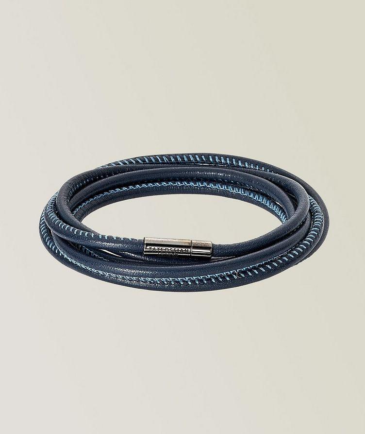 Raphael 1M Social Distancing Leather Bracelet image 0