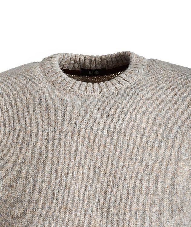 Pull en mélange de laine d'alpaga picture 2
