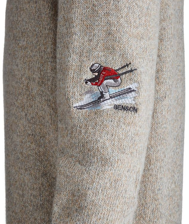 Pull en mélange de laine d'alpaga picture 3