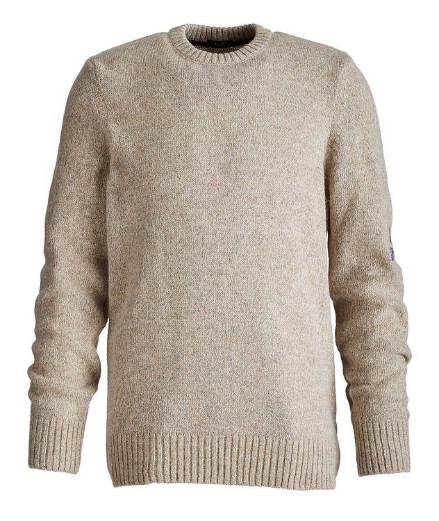 Pull en mélange de laine d'alpaga picture 1