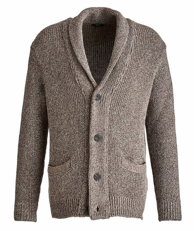 Wool-Cashmere Cardigan picture 1