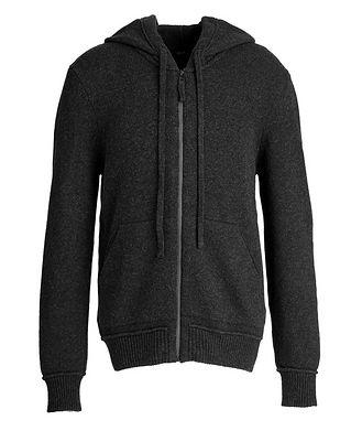 Benson Zip-Up Wool-Cashmere Hoodie