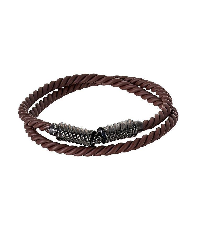 Bracelet à cordons en caoutchouc image 0