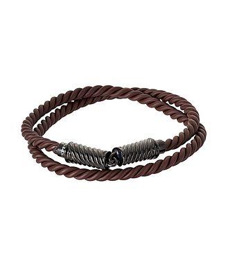 Tateossian London Rubber Corded Bracelet