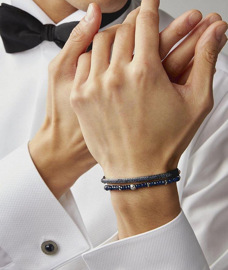 Hematite Bead Bracelet image 1