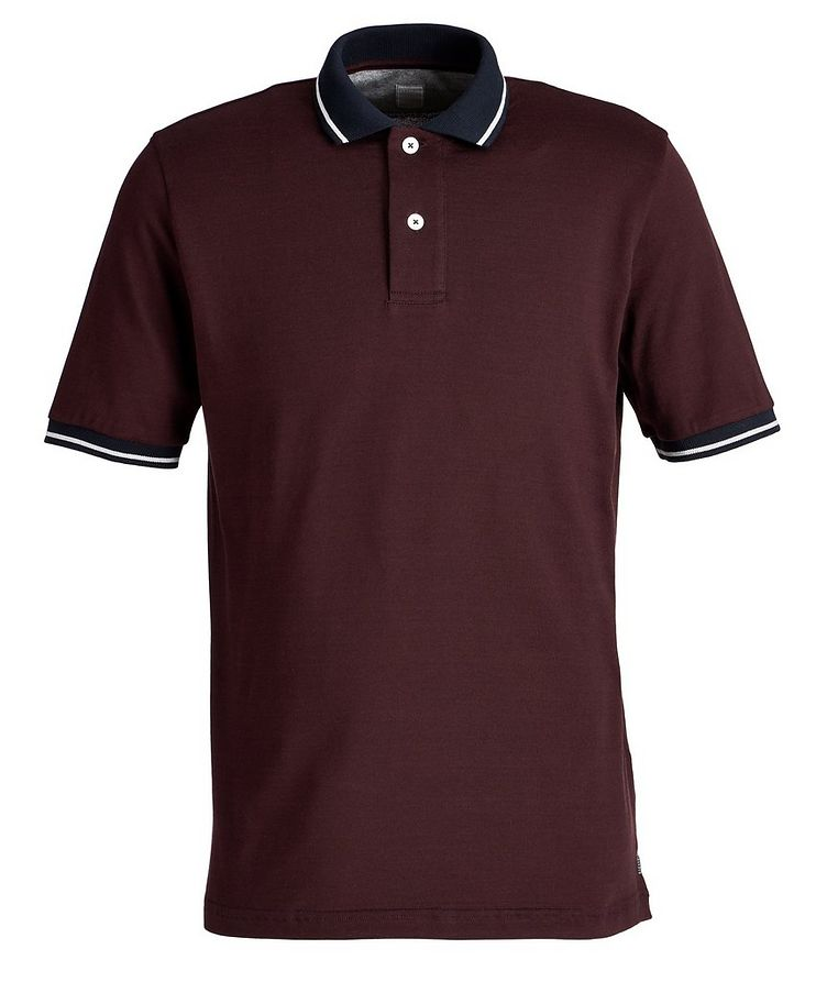 Cotton Piqué Polo image 0