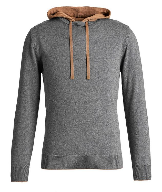 Wool Knit Hoodie picture 1