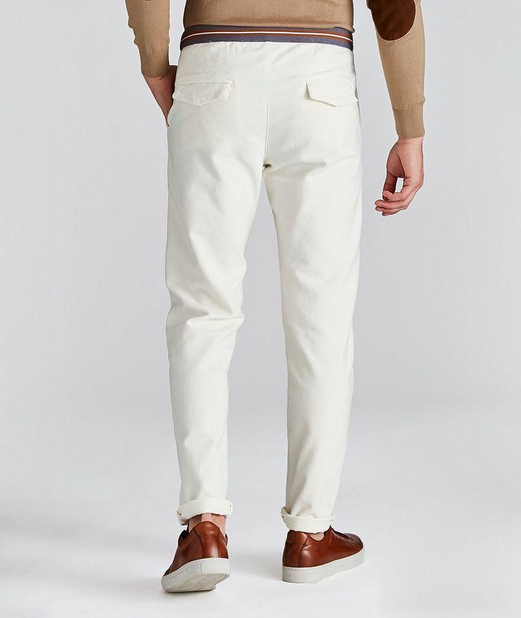 Drawstring Cotton Pants image 1