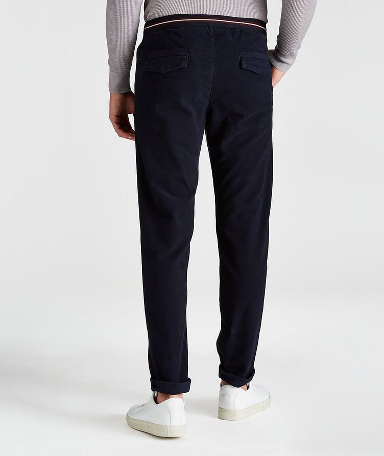 Drawstring Cotton Pants image 1
