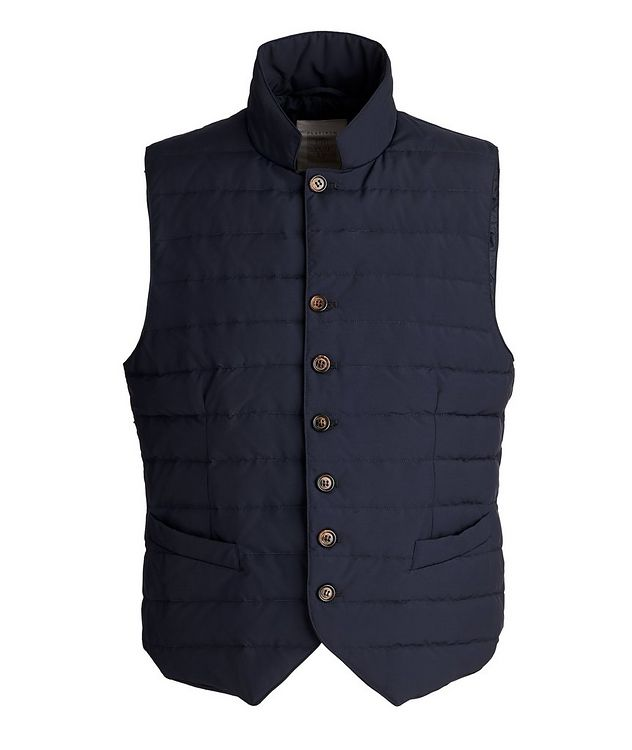 Rain System Quilted Down Vest picture 1