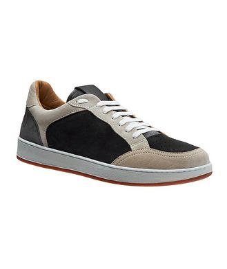 Eleventy Suede Sneakers