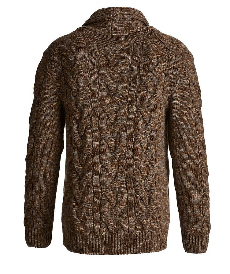Cable Knit Cashmere Cardigan image 1