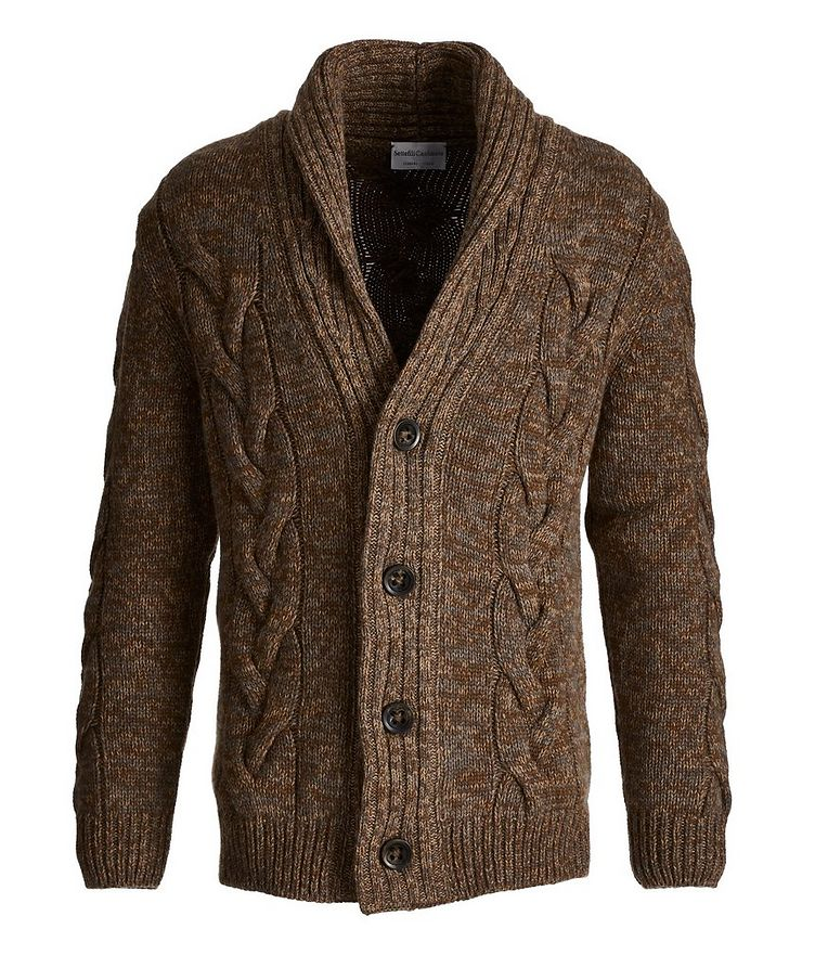 Cable Knit Cashmere Cardigan image 0