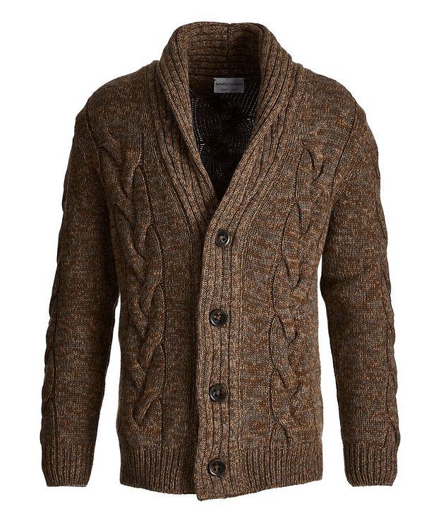 Cable Knit Cashmere Cardigan picture 1