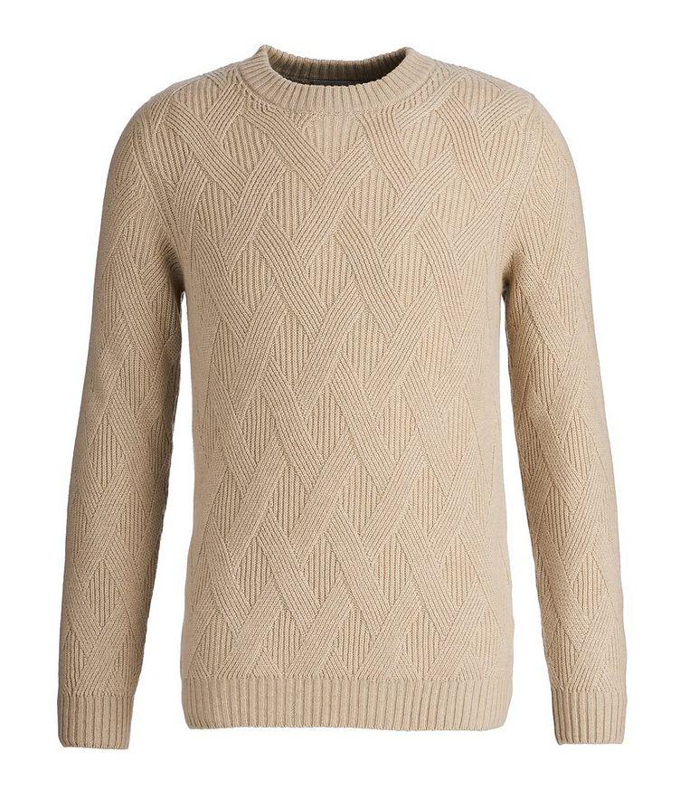 Basketweave Cashmere Sweater image 0
