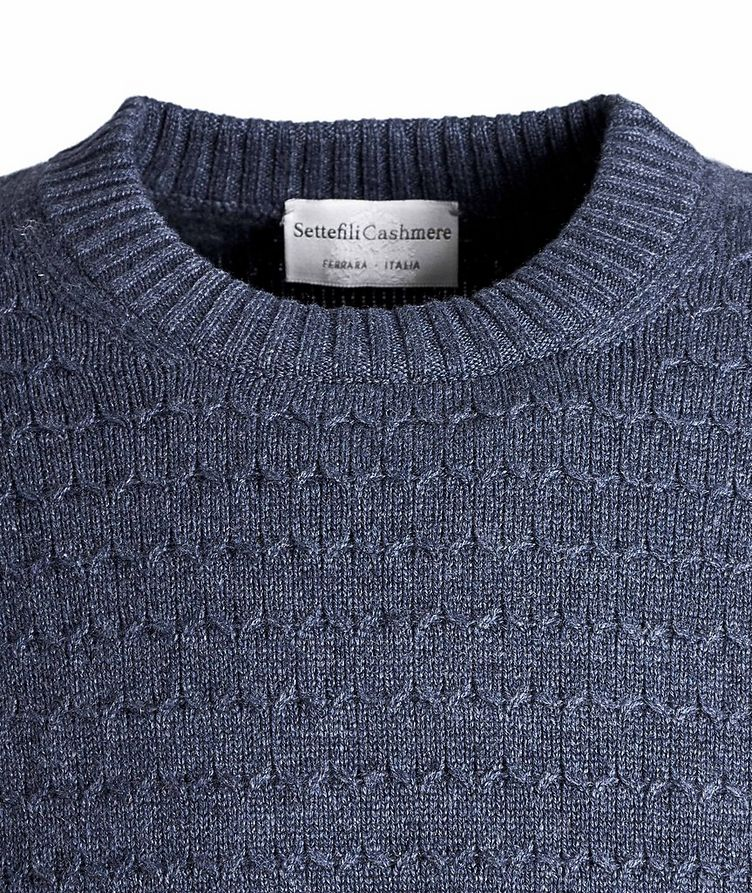 Textured Cashmere Sweater image 1
