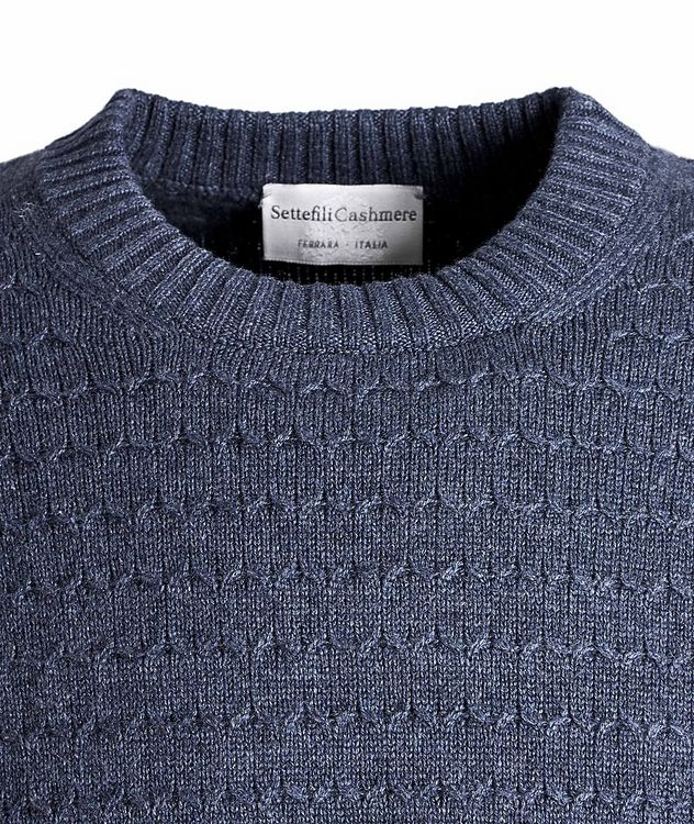 Textured Cashmere Sweater picture 2