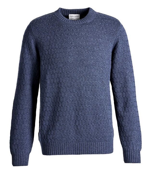 Textured Cashmere Sweater picture 1