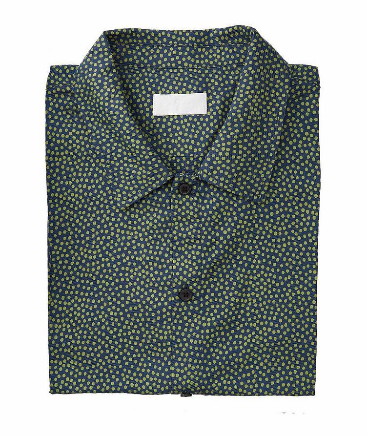 Short-Sleeve Lyocell-Cotton Shirt image 0