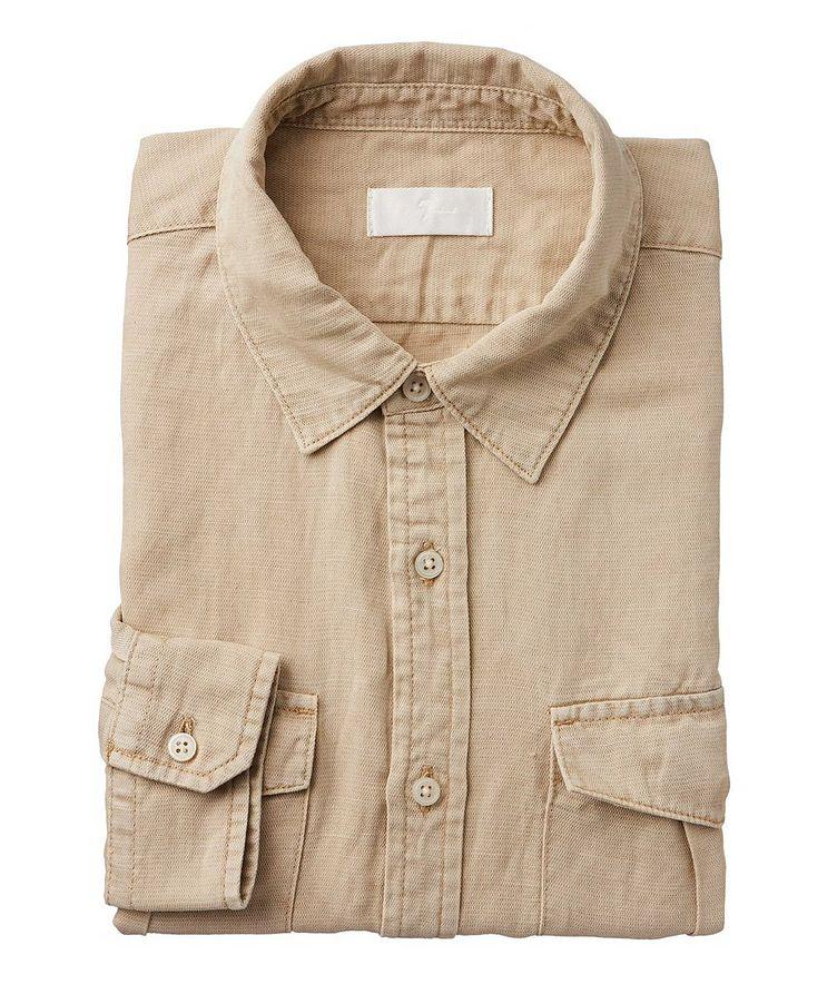 Long-Sleeve Military Shirt image 0