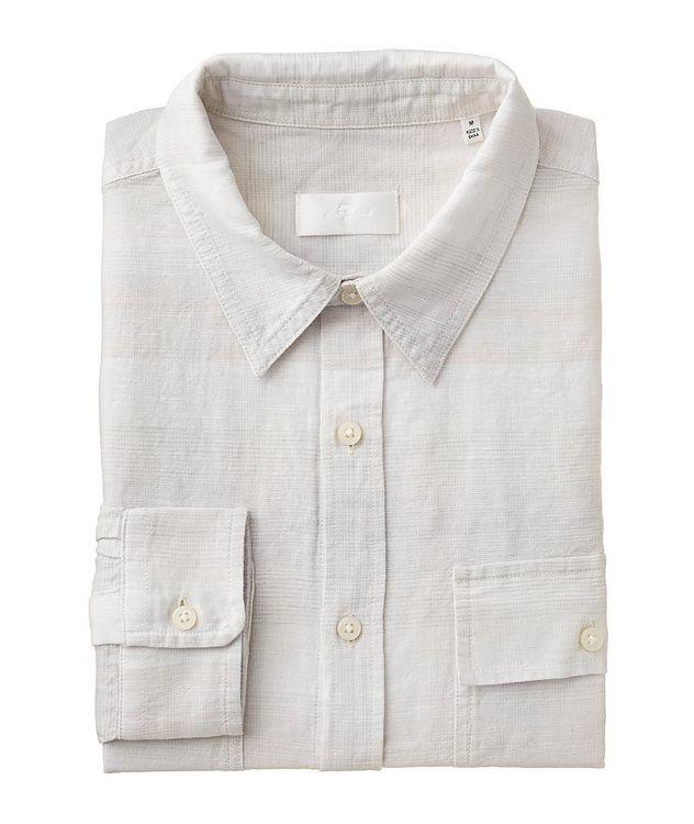 Plaid Linen-Cotton Shirt picture 1
